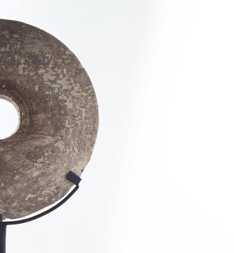 Organic Modern Table Top Replica Yap Stone For Sale
