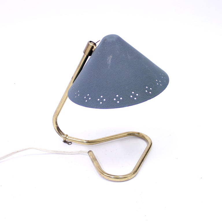 Scandinavian Modern Table or Wall Lamp by EWÅ, 1950s For Sale