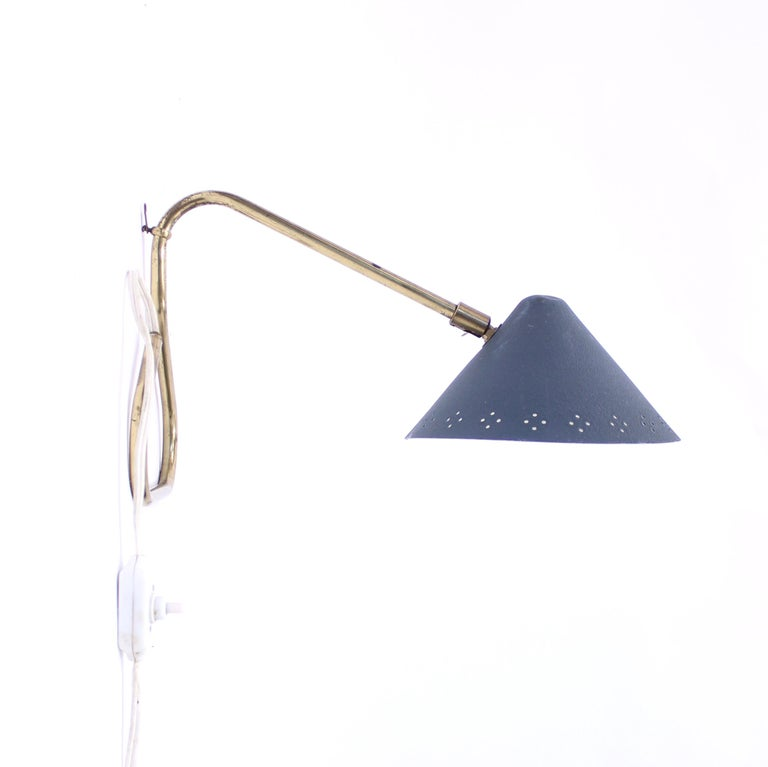 Table or Wall Lamp by EWÅ, 1950s In Good Condition For Sale In Uppsala, SE