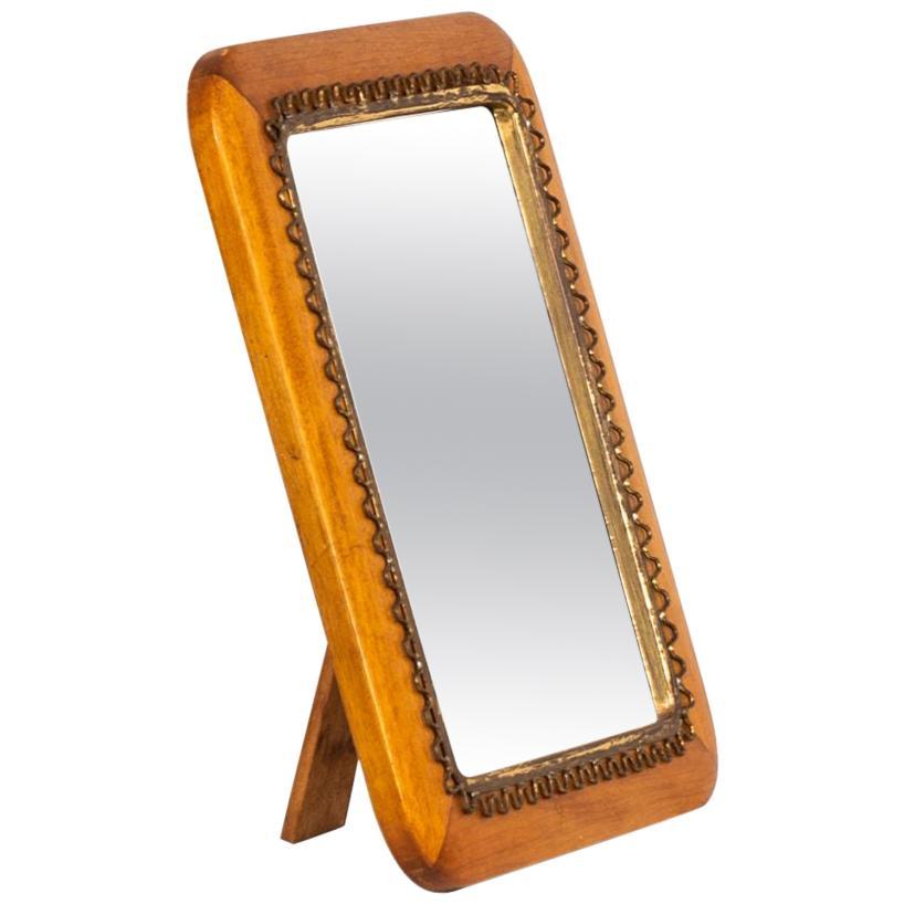 Table / Wall Mirror Produced by Svenskt Tenn in Sweden