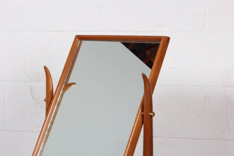 Mid-20th Century Tabletop Mirror by T.H. Robsjohn-Gibbings For Sale
