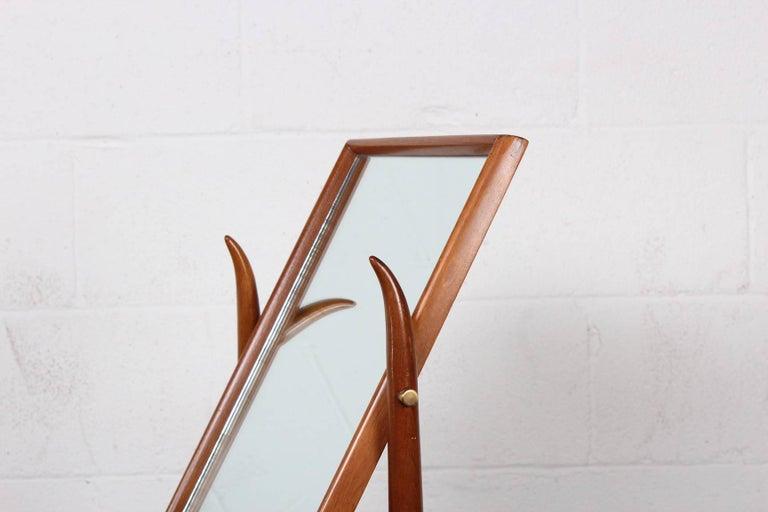 Tabletop Mirror by T.H. Robsjohn-Gibbings For Sale 2
