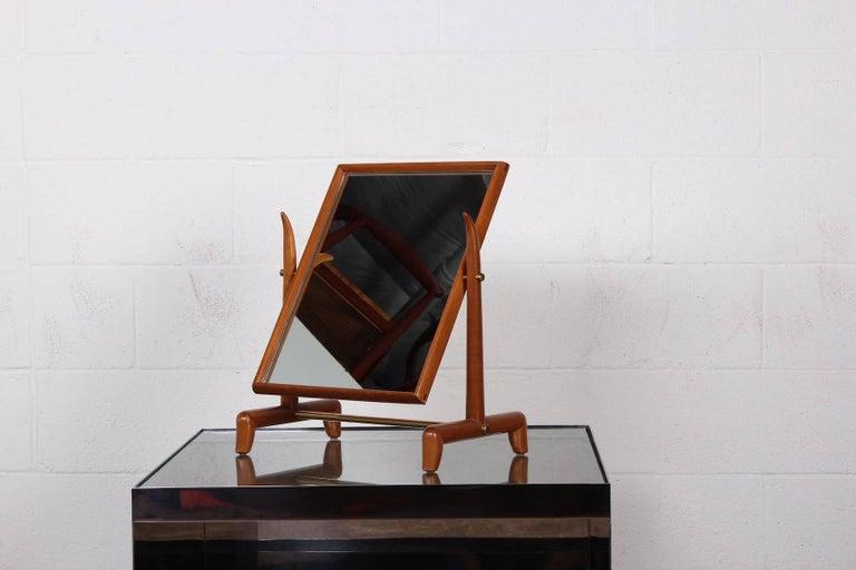 Tabletop Mirror by T.H. Robsjohn-Gibbings For Sale 5