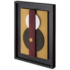 Tabou Decorative Wall Sculpture with Black Frame #1