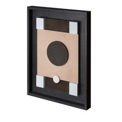 Tabou Decorative Wall Sculpture with Black Frame #2