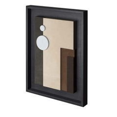 Tabou Decorative Wall Sculpture with Black Frame #3