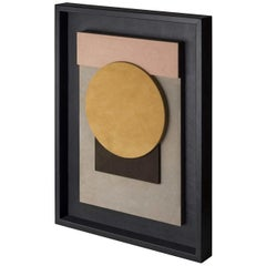 Tabou Decorative Wall Sculpture with Black Frame #5