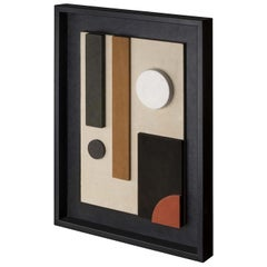 Tabou Decorative Wall Sculpture with Black Frame #6