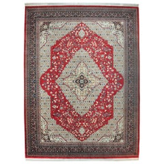 Tabriz-5 Hand Knotted Wool, Rug, Carpet