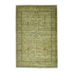 Tabriz Revival 300 KPSI Oversize Hand Knotted Oriental Rug