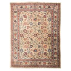 Tabriz Wool Rug with Classic Persian Design, circa 1900