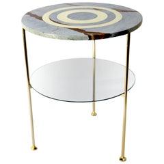 Tabù Marble Drop Side Table
