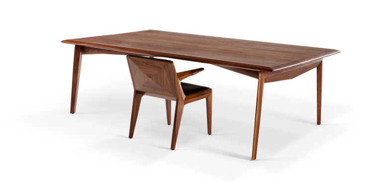 Tabularasa, Mid-Century Modern Wooden Dining or Office Table In New Condition For Sale In Istanbul, TR