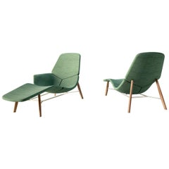 Tacchini Atoll Chaise Lounge Designed by Patrick Norguet