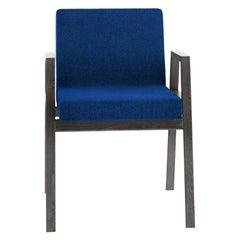 Tacchini Babela Armchair in Blue Fabric by Achille & Pier Giacomo Castiglioni