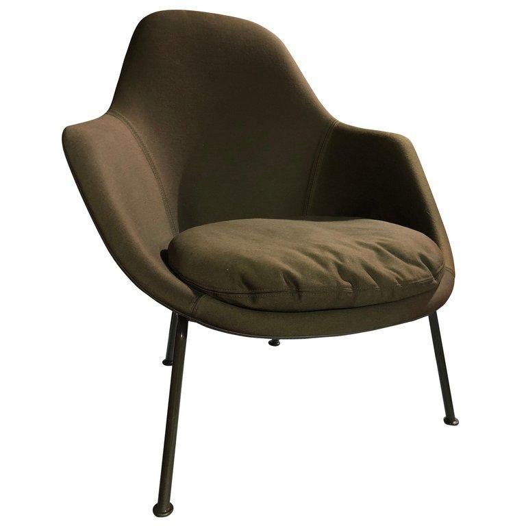 Tacchini Dot Green Armchair by Patrick Norguet 4