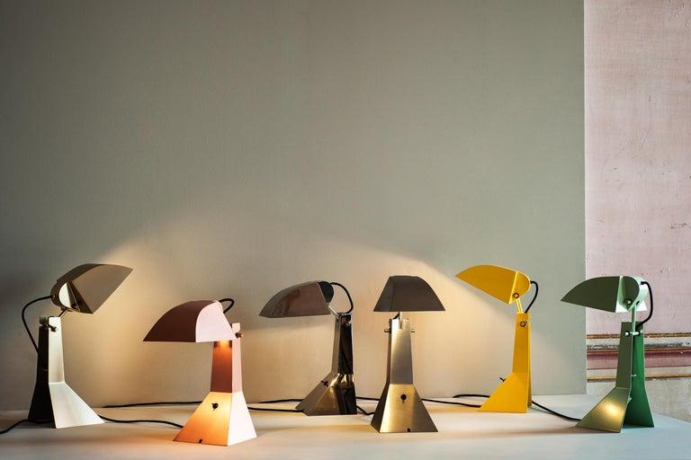 Italian Tacchini E63 Lamp Designed by Umberto Riva For Sale