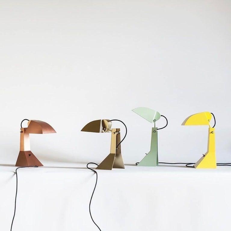 Metal Tacchini E63 Lamp Designed by Umberto Riva For Sale