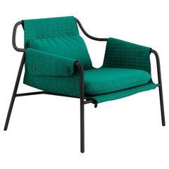 Tacchini Jacket Armchair in Emerald Green Bopha Fabric by Claesson Koivisto Rune