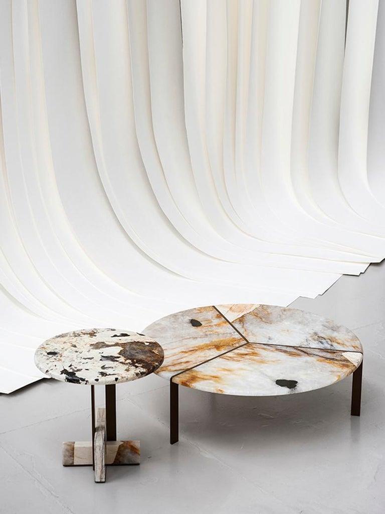Contemporary Tacchini Joaquim Marble Side Table Designed by Giorgio Bonaguro For Sale