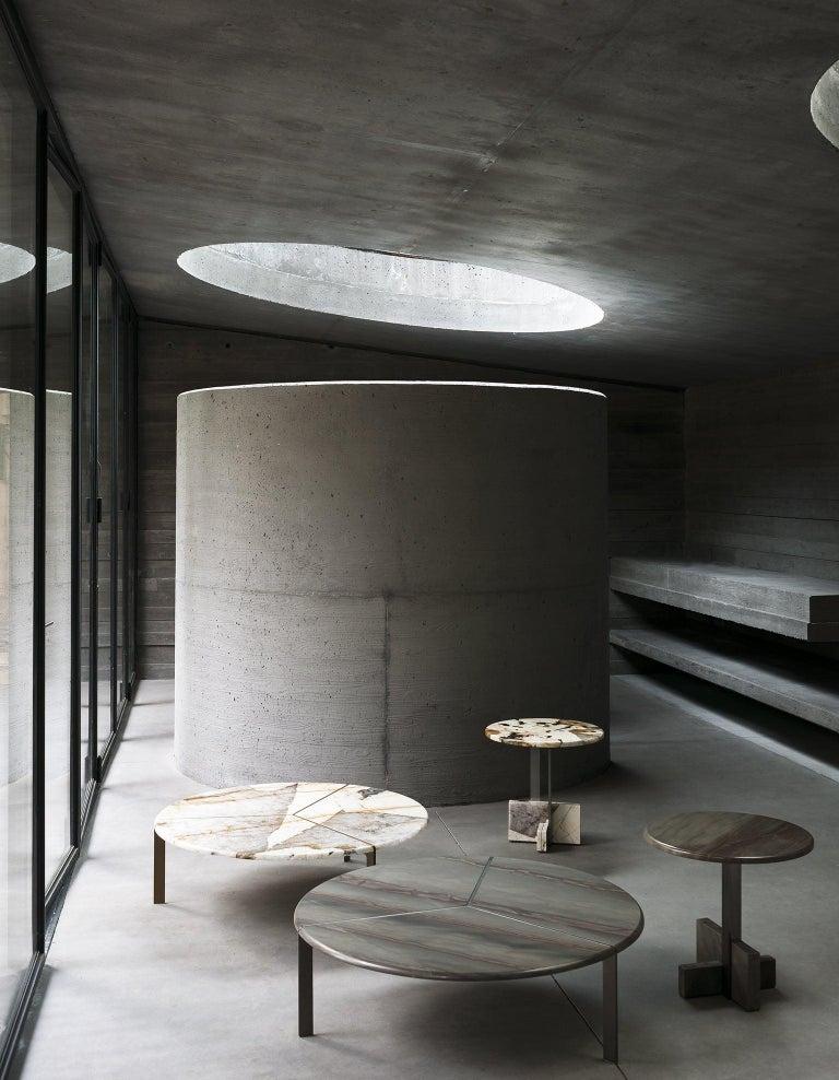 Tacchini Joaquim Marble Side Table Designed by Giorgio Bonaguro For Sale 2