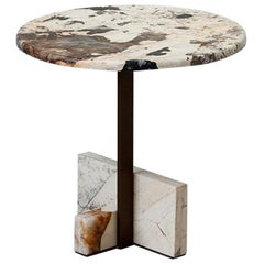 Tacchini Joaquim Marble Side Table Designed by Giorgio Bonaguro