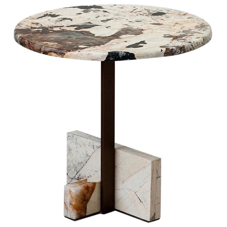 Tacchini Joaquim Marble Side Table Designed by Giorgio Bonaguro For Sale