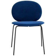Tacchini Kelly C Basic Chair in Blue Calantha Fabric by Claesson Koivisto Rune