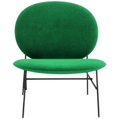Tacchini Kelly E Chair in Green Dianella Fabric by Claesson Koivisto Rune