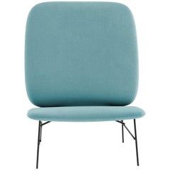 Tacchini Kelly H Chair in Sky Blue Early Fabric by Claesson Koivisto Rune