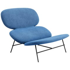 Tacchini Kelly L Chaise Longue in Bopha Fabric by Claesson Koivisto Rune