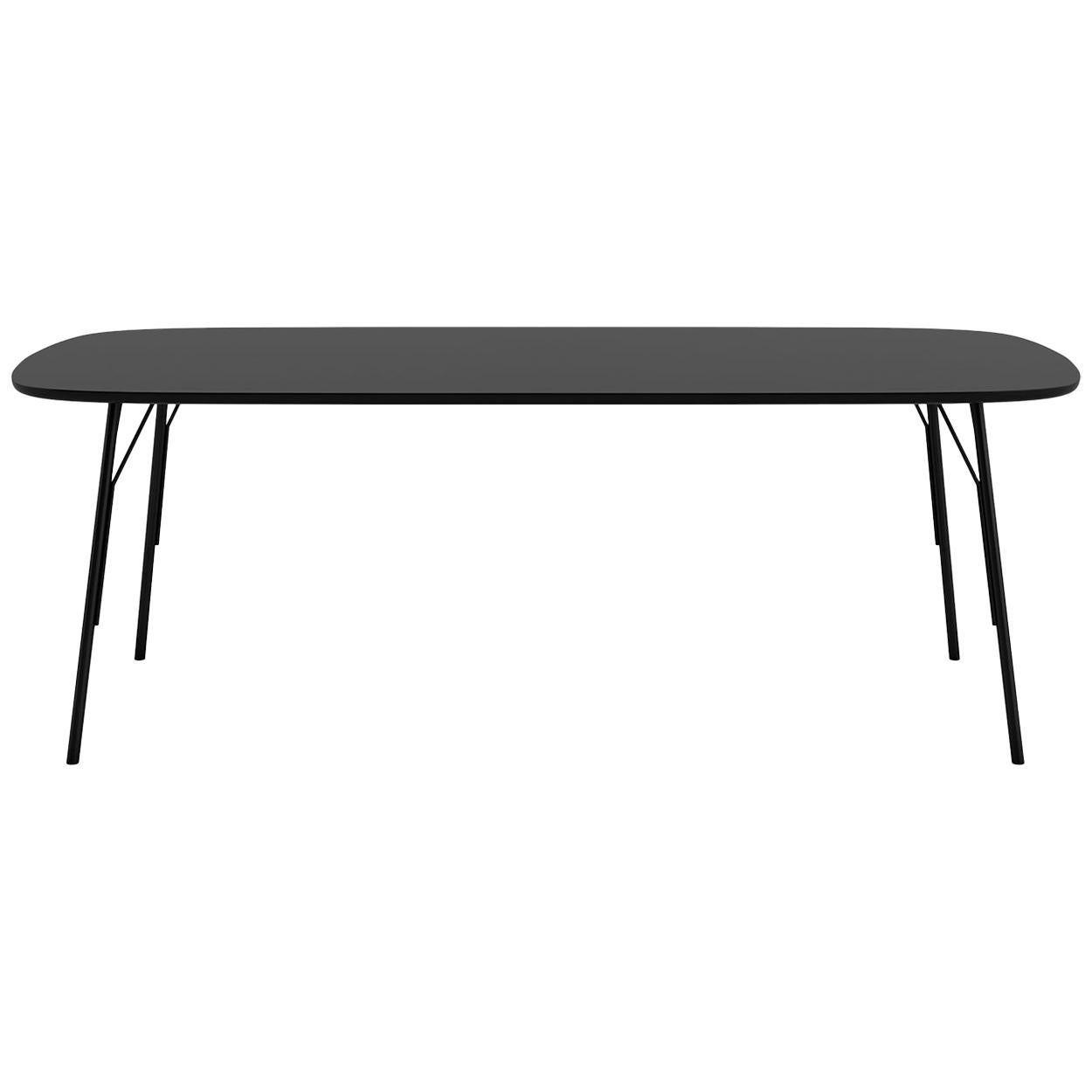 Tacchini Kelly T Large Table in Black by Claesson Koivisto Rune