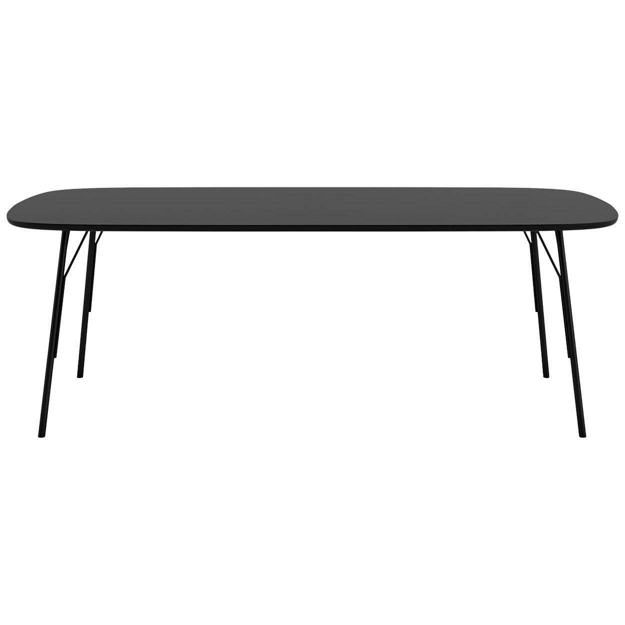 Tacchini Kelly T Small Table in Black by Claesson Koivisto Rune