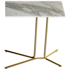 Tacchini Ledge Marble Side Table Designed by Gordon Guillaumier