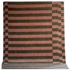 Tacchini Linea Rug in Himalayan Wool by Maria Gabriella Zecca