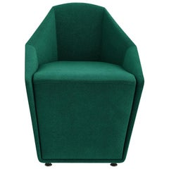 Tacchini Misura Armchair in Emerald Green Fabric by Claesson Koivisto Rune