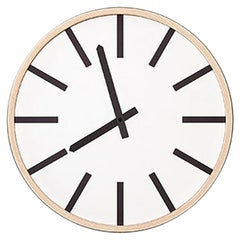 Tacchini Mod Clock L Designed by Think Work Observe