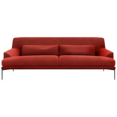 Tacchini Montevideo Four-Seater Sofa with Down Cushion by Claesson Koivisto Rune