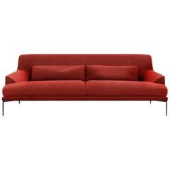 Tacchini Montevideo Four-Seater Sofa with Down Cushion by Claesson Koivisto Rune
