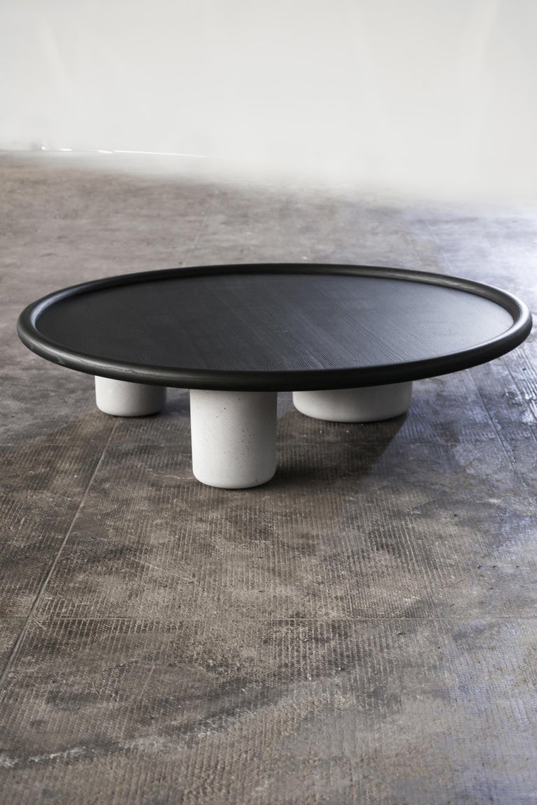 Contemporary Tacchini Pluto Wood Side Table Designed by Studiopepe For Sale