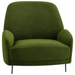 Tacchini Santiago Armchair in Green Fabric by Claesson Koivisto Rune