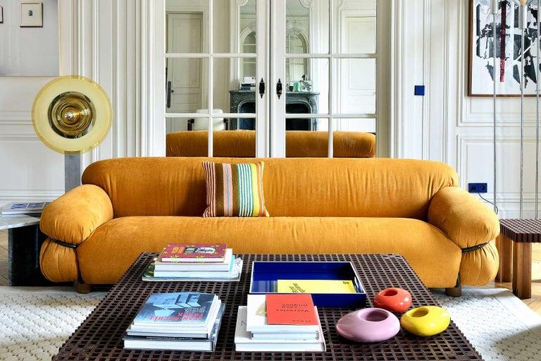 Tacchini Sesann Armchair Designed by Gianfranco Frattini For Sale 8