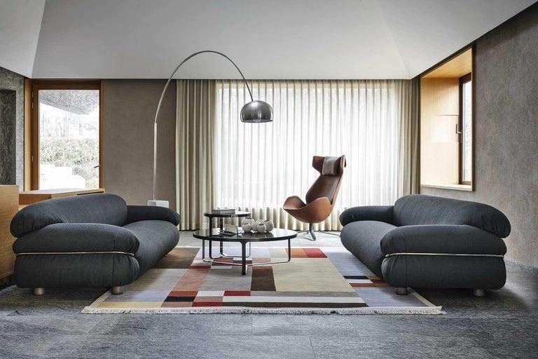 Contemporary Tacchini Sesann Armchair Designed by Gianfranco Frattini For Sale