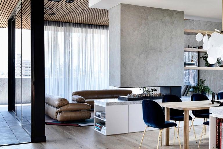Tacchini Sesann Armchair Designed by Gianfranco Frattini For Sale 3