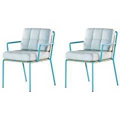 Tacchini Set of Two Memory Lane Chairs designed by Christophe Pillet