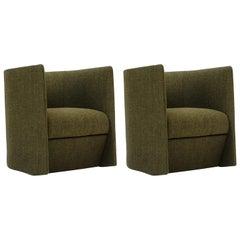 Tacchini Set of Two Pisa Armchairs Designed by Claesson Koivisto Rune