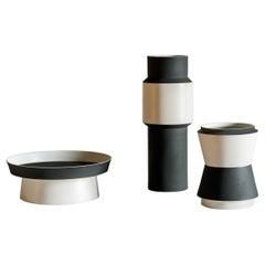 Tacchini Vasum Porcelain Pot Designed by Maria Gabriella Zecca