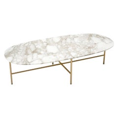 Tacchini White Calacatta Marble Soap Table