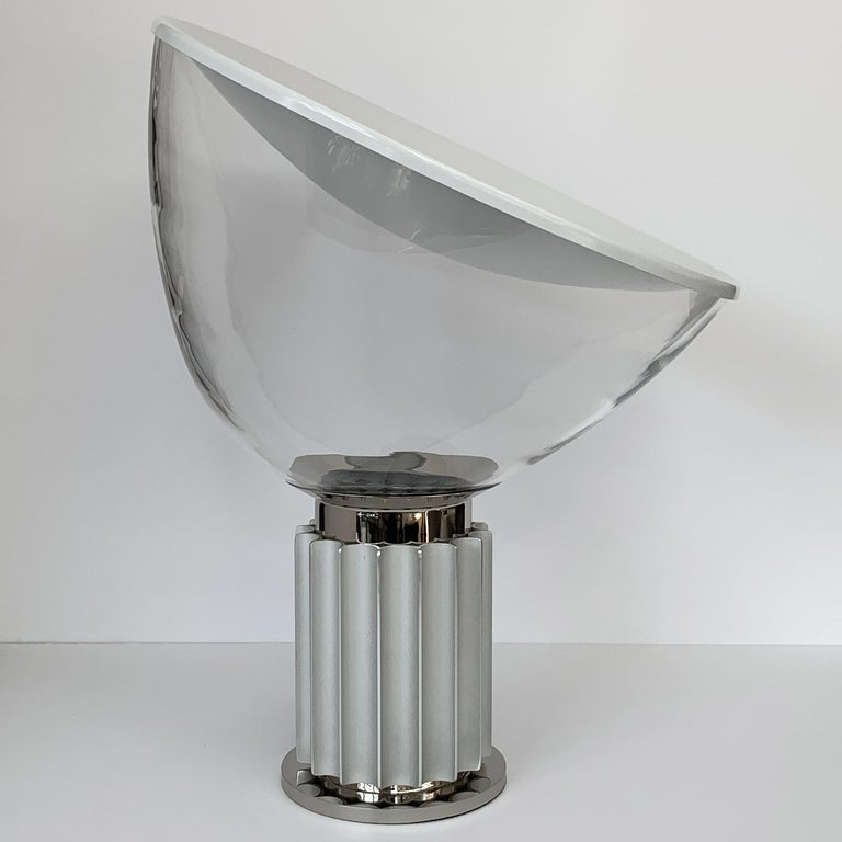 Mid-Century Modern Taccia Lamp by Pier Giacomo and Achille Castiglioni for Flos For Sale