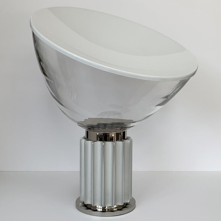 Italian Taccia Lamp by Pier Giacomo and Achille Castiglioni for Flos For Sale